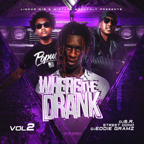 Where The Drank At 2 Eddie Gramz front cover
