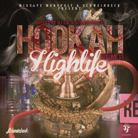 Hookah Highlife 13 DJ S.R. front cover