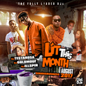 Lit This Month (August 2017) DJ Testarosa front cover