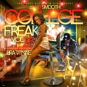College Freak Vol. 26 (Ladies Edition) Brattnae  front cover