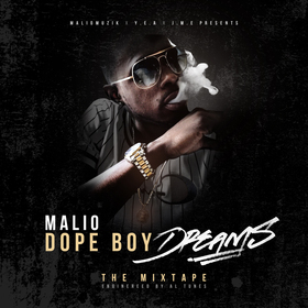 Dope Boy Dreams MALIO front cover