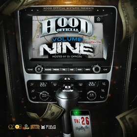 Hood Official Vol. 9 DJ Official front cover