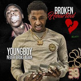Broken Hearted NBA YoungBoy front cover