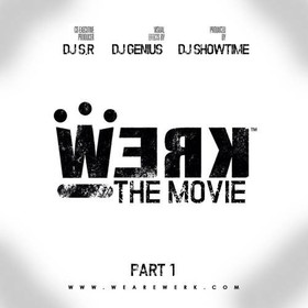 Werk (The Movie) DJ S.R. front cover