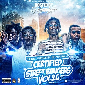 This Weeks Certified Street Bangers Vol.20 DJ Mad Lurk front cover