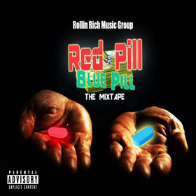 Red Pill Blue Pill The Mixtape Pookie front cover