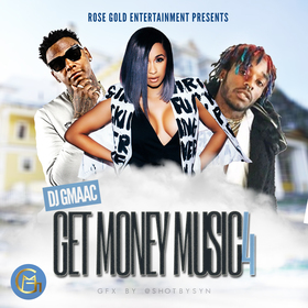 Get Money Music 4 DJ GMAAC front cover