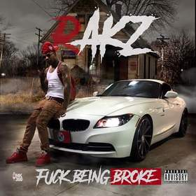 Fuck Being Broke Dj Illy Jay front cover