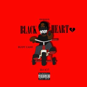 Black Heart Rudy Cash front cover