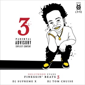 Finessin Beats 3 Hollywood Evans front cover