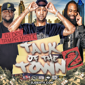 Talk Of The Town  2 DJ DES front cover