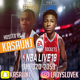 NBA YoungBoy - NBA Live 18 With KaSaunJ TyyBoomin front cover