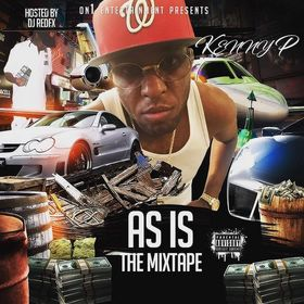 As Is The Mixtape Kenny P front cover