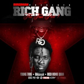 Rich Gang: Tha Tour Pt. 1 YMCMB front cover
