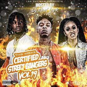 This Weeks Certified Street Bangers Vol.19 DJ Mad Lurk front cover