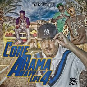 Coke-A-Rama : Wavy Life 4 Various Artists front cover