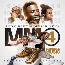 Margiela Music 4 3rdy Baby front cover