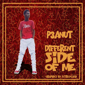 P3anut :: Different Side Of Me Dj Trey Cash front cover