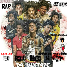 Long Live Da Real Gee Money (TBG Angel) TyyBoomin front cover
