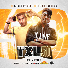Hip Hop TXL Vol 50 DJ Reddy Rell front cover