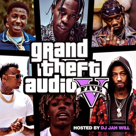 Grand Theft Audio 5 DJ Jah Will front cover