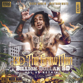 BD The Grow Man - All or Nothing Billion Dollar BD front cover