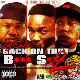 DJ Gates  Back On That BS Vol 2 Various Artists front cover