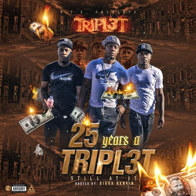 25 years a Tripl3t (Still At It) Tripl3t front cover