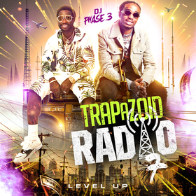 Trapazoid Radio 7: Level Up DJ Phase 3 front cover