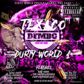 Durty World 1 TEXACO DFMBG front cover