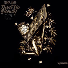 Turnt Up Shawty 1.5 (EP) Prince James front cover