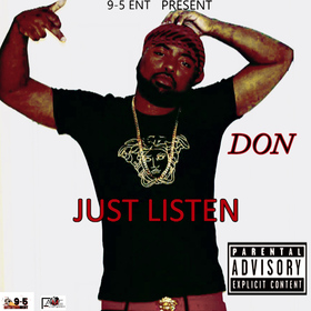 Just Listen SHAWN DA DON front cover