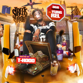 Streets Support 4 DJ Yung Rel front cover