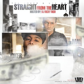 Straight From The Heart Tha Joker  front cover