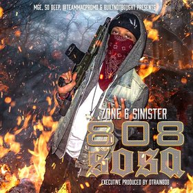 808 Sosa Zone 6 Sinister front cover