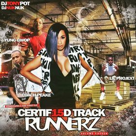 Certified Track Runnerz 15 Dj Tony Pot front cover