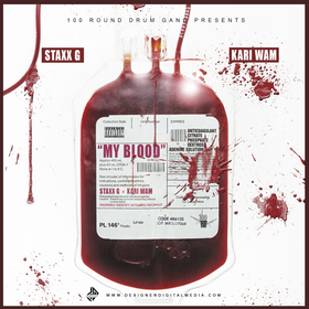 Staxx G - My Blood DJ BkStorm front cover