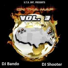 On THA MAP VOL 3 DJ Shooter front cover