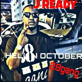 Hell In October J Ready front cover