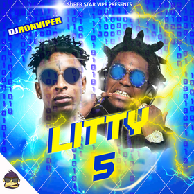 Litty 5 (Hot Tracks This Week) DJ Ron Viper front cover