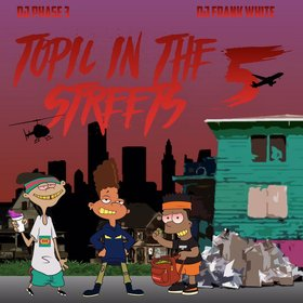 Topic In The Streets 5: Characters DJ Phase 3 front cover