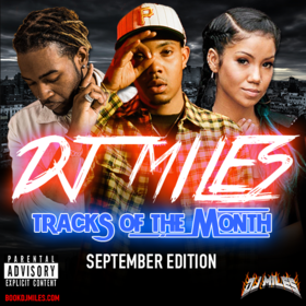 Tracks of the Month (September Edition) DJ Miles front cover