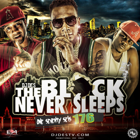 The Block Never Sleeps 176 Hosted by DJ DES The Block Never Sleeps front cover