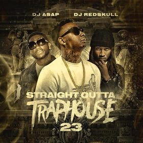 Straight Outta Trap House 23 DJ ASAP front cover