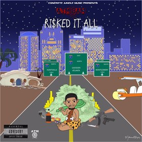 RI$KED IT ALL Atm Bam front cover