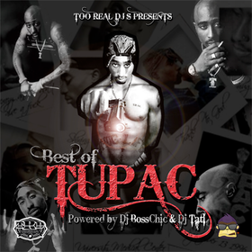Best Of Tupac DJ Boss Chic front cover