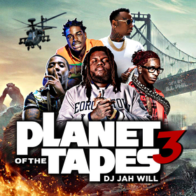 Planet Of The Tapes 3 DJ Jah Will front cover
