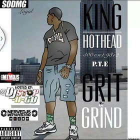 Grit & Grind by King Hothead DJ Stop N Go front cover