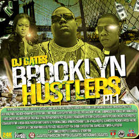 DJ Gates  Brooklyn Hustlers Pt 1 Various Artists front cover
