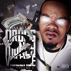 Drugs Money Violence 2 GAA Buck front cover
